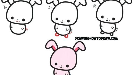 570x320 Draw A Rabbit Easy