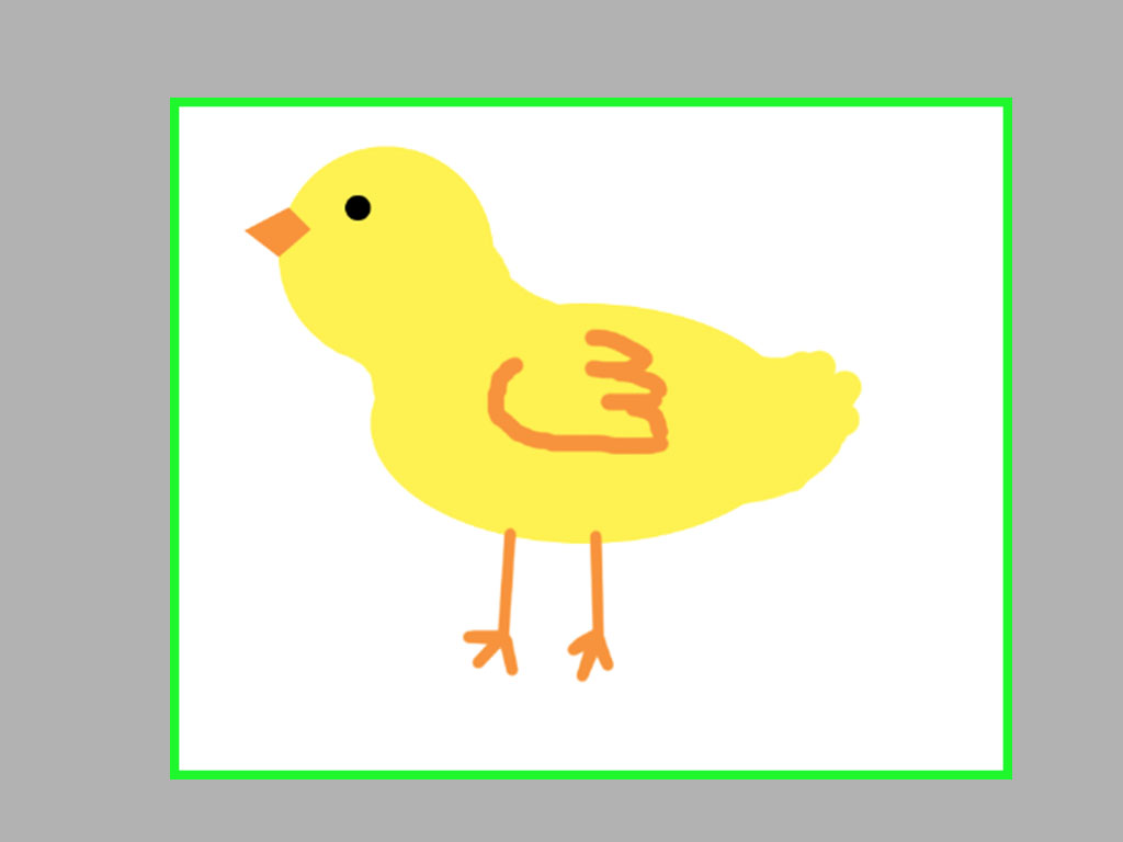 1024x768 Ways To Draw A Cartoon Chicken With Ms Paint
