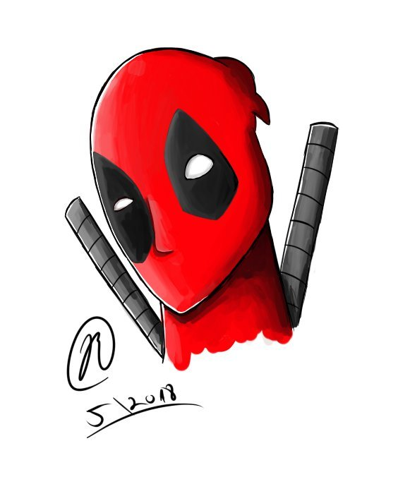 564x676 Deadpool Drawing Comics Amino