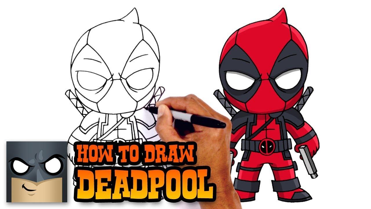 1280x720 How To Draw Deadpool Deadpool