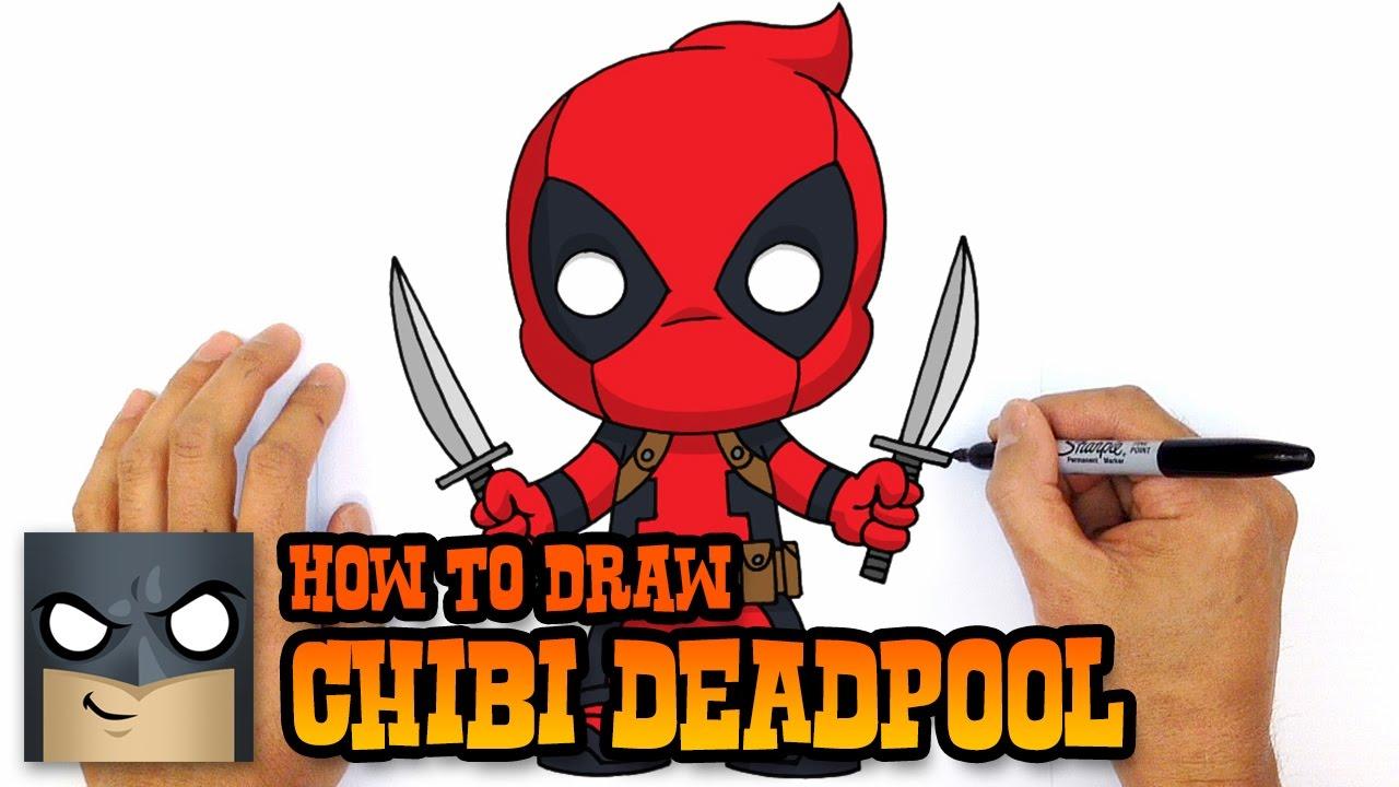 1280x720 How To Draw Deadpool Marvel Comics