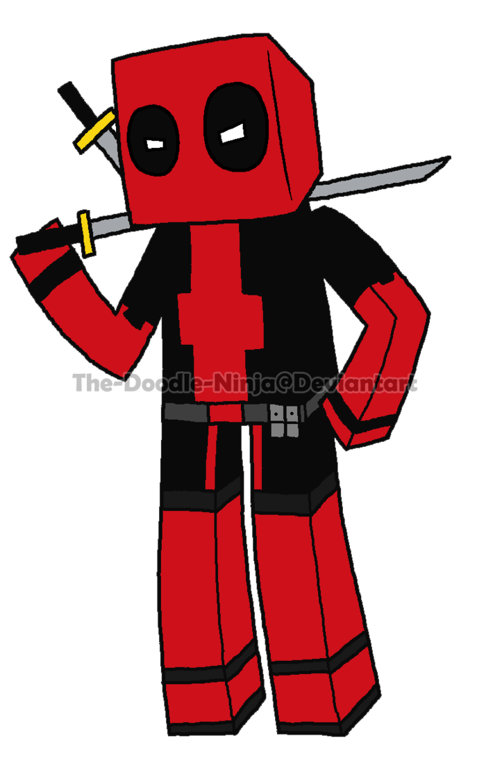 723x1105 Weapon Drawing Deadpool, Picture