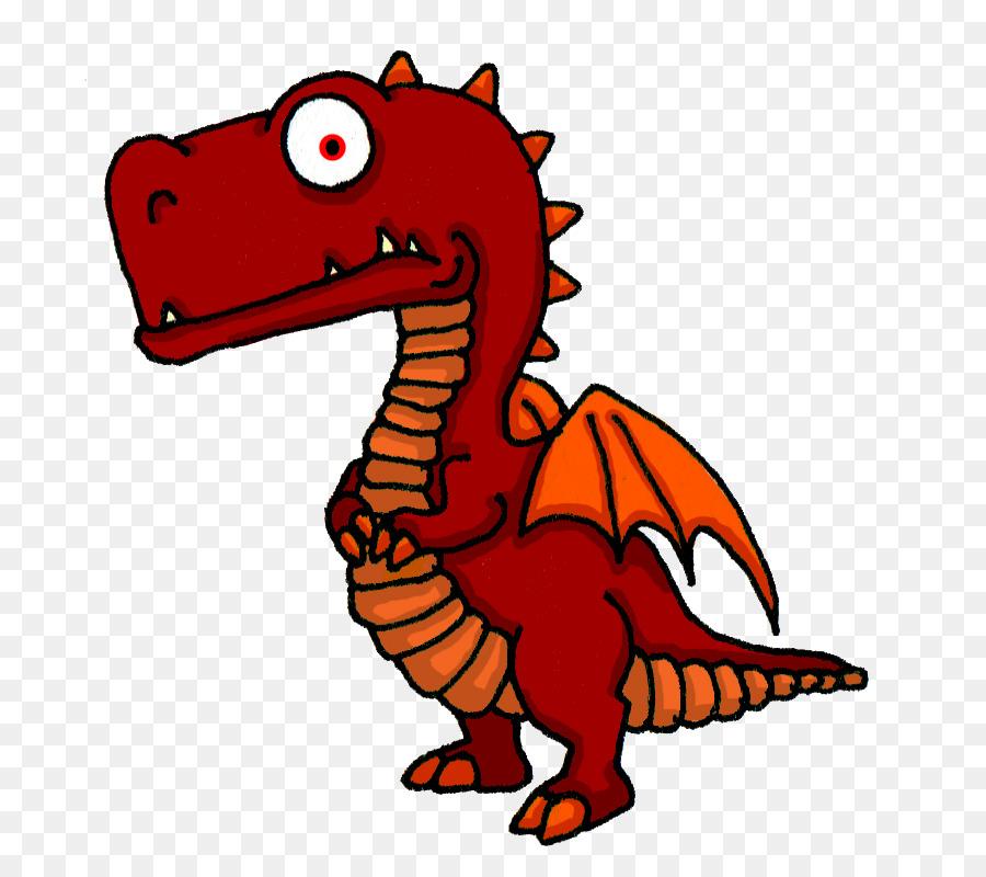 Cartoon Dragon Drawing