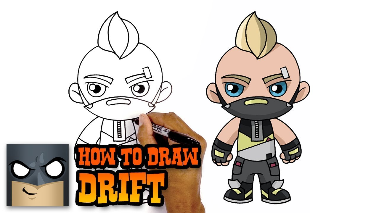 1280x720 How To Draw Fortnite Drift