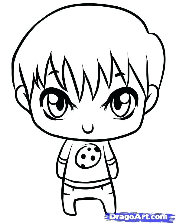 582x741 Easy To Draw Boy Easy Steps To Draw A Cartoon Boy Zupa