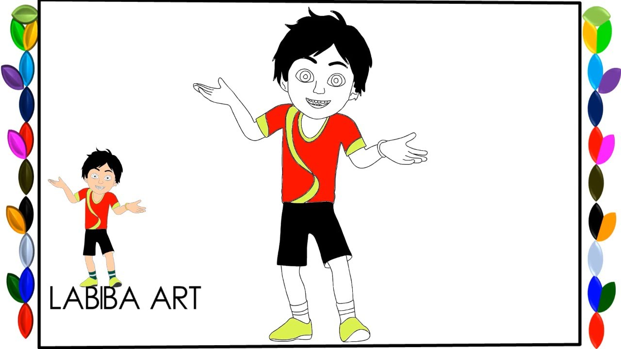 1280x720 Nick Shiva Cartoon Character Drawing