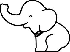 Cartoon Drawing Elephant