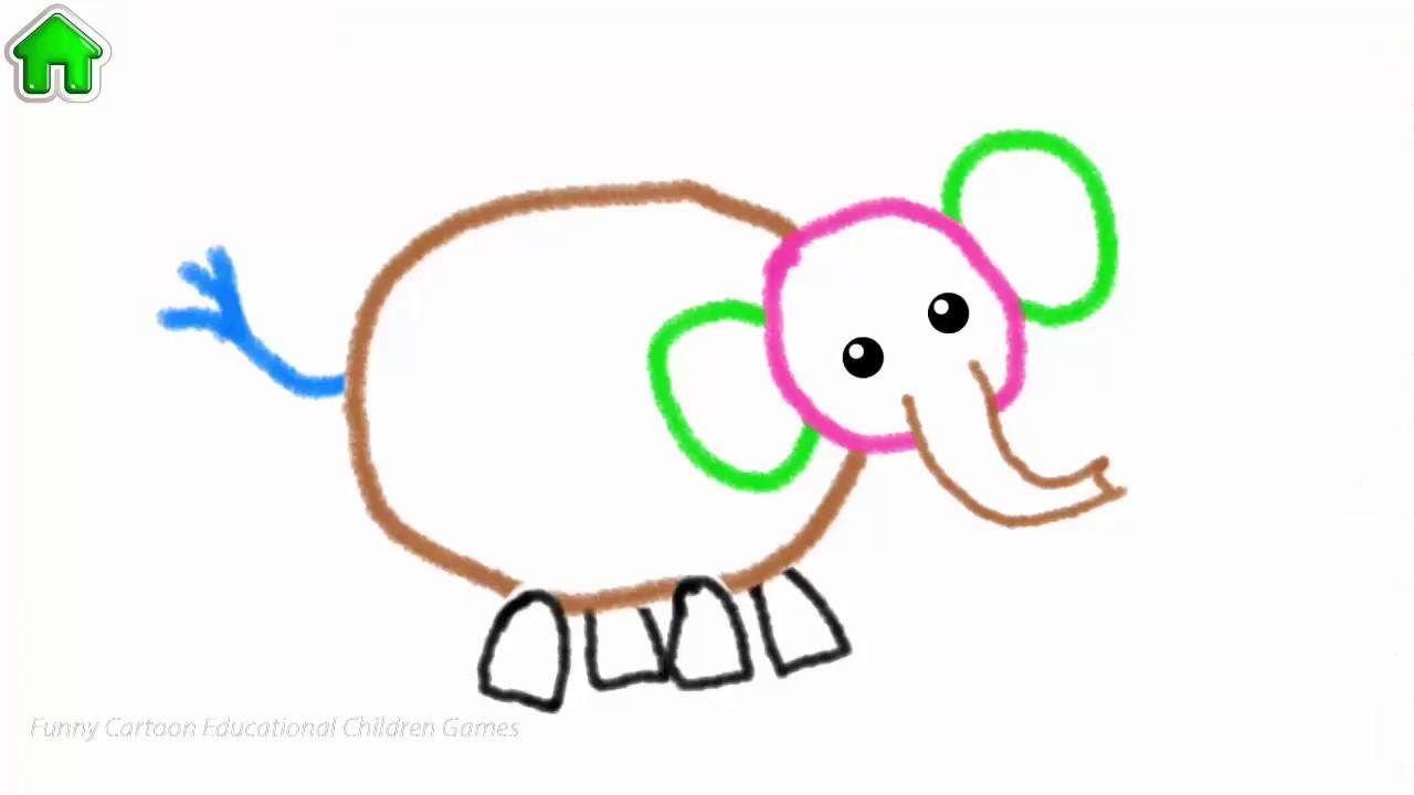 1280x720 Abc Draw! Alphabet Games Preschool Funny Cartoon Educational
