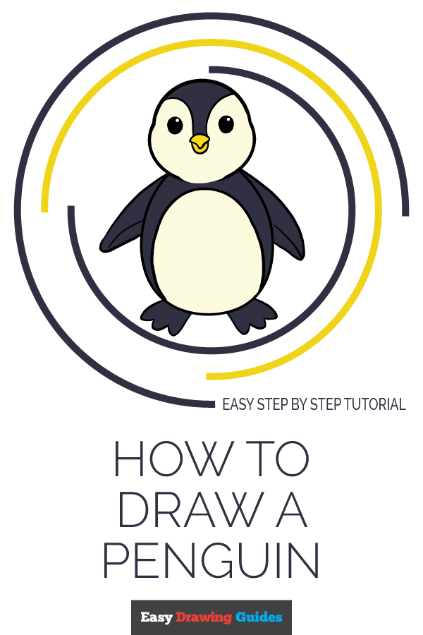 600x900 How To Draw A Penguin Really Easy Drawing Tutorial