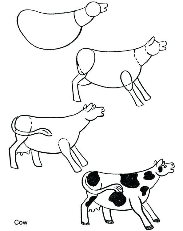 595x750 How To Draw A Farm Step