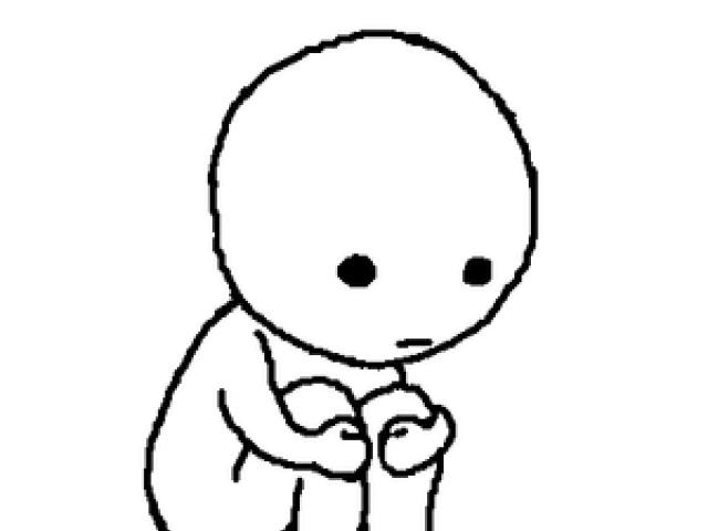 640x480 Cartoon Picture Of A Sad Person Free Download Clip Art