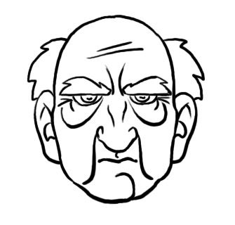 335x320 How To Draw An Old Face Art Inspiration Old Man Face, Drawings