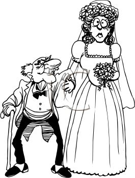 265x350 Old Lady And Old Man Clipart