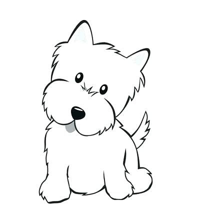 400x430 easy drawing of a puppy cute puppy drawings puppy drawing image