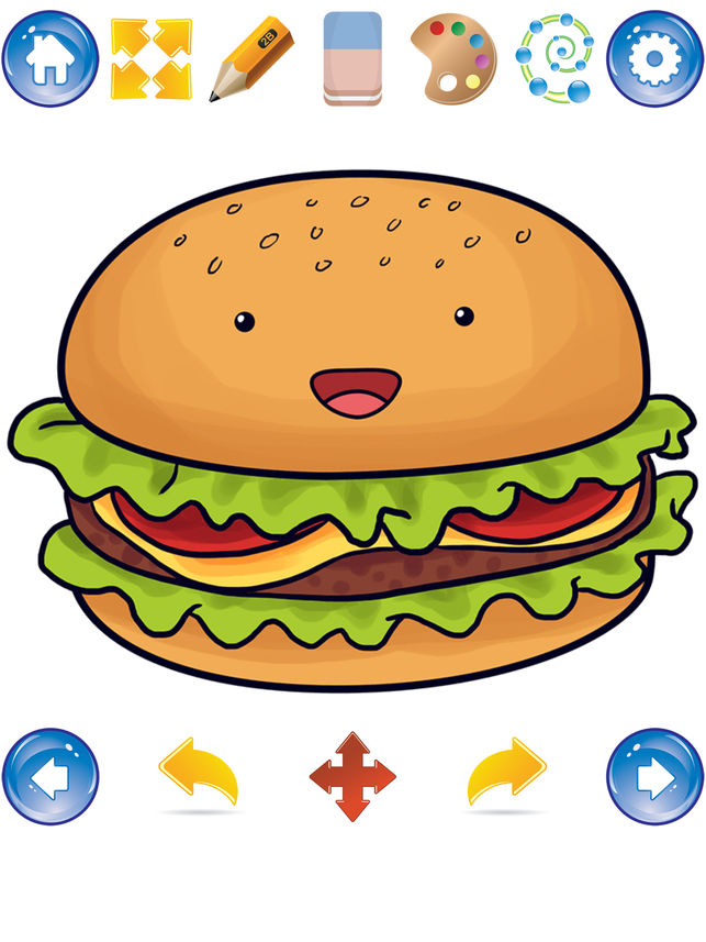 643x857 How To Draw Cute Food On The App Store
