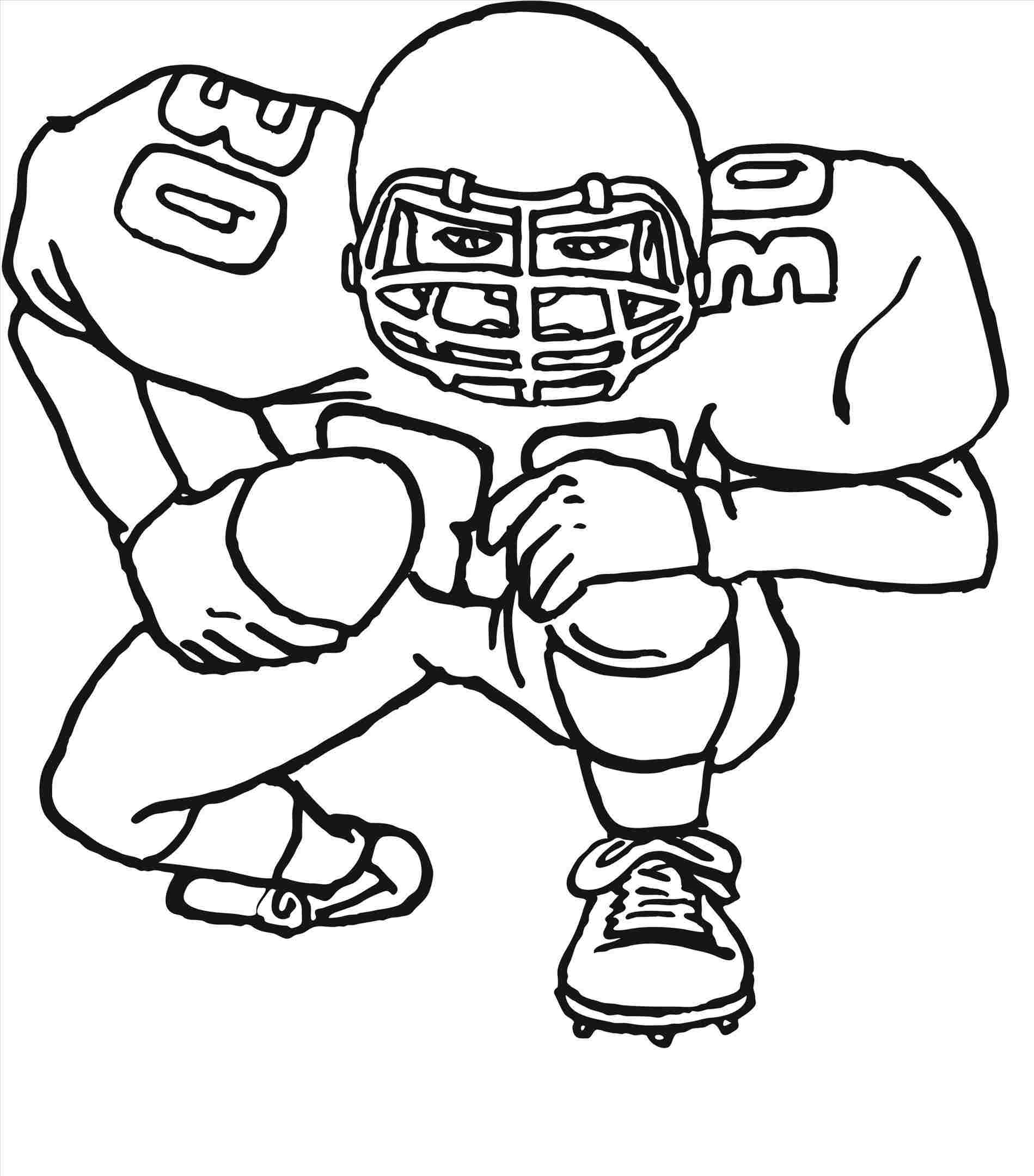 1899x2160 Free Football Players Cartoon Drawings Coloring Pages Of Drawing