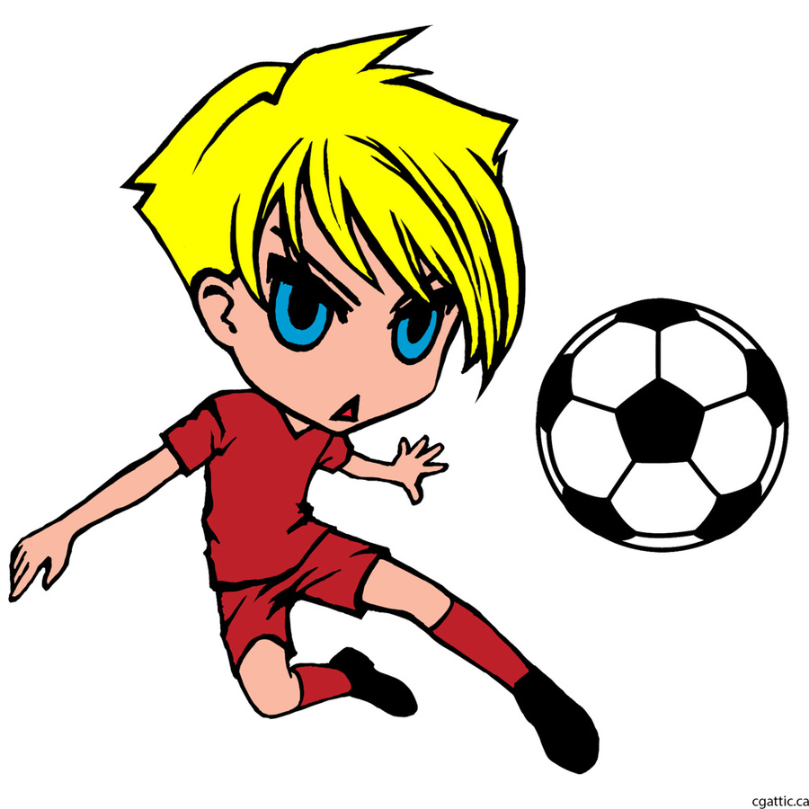 900x900 Cartoon Football Player Football Player Cartoon Stock
