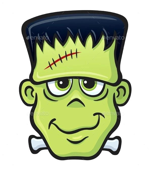 590x681 How To Draw A Frankenstein Face Drawing Cartoon Draw Frankenstein
