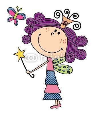 333x400 cute fairy cartoon garden fun cute girl drawing, cute drawings