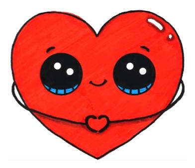 392x338 Heart Emoji Love Stuff In Kawaii Drawings, Cute Kawaii