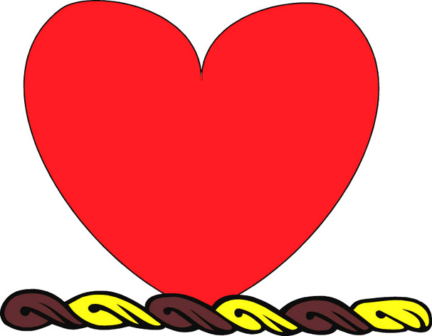 607x472 love heart drawings, cartoon love pictures love images