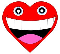 250x226 Cartoon Heart Step