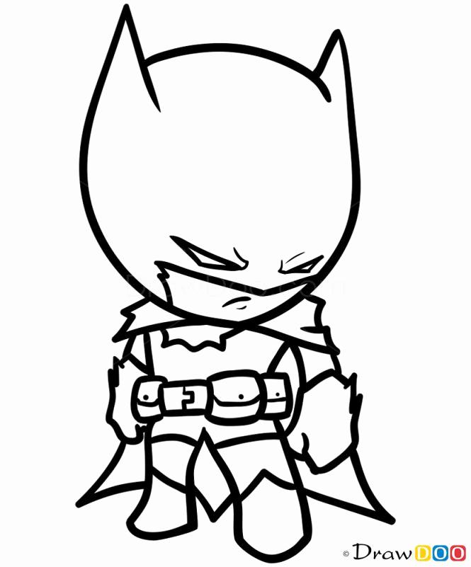 Cartoon Hero Drawing