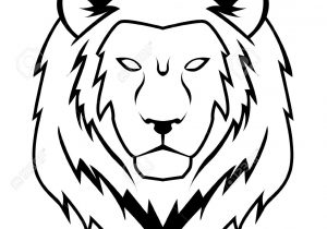 300x210 draw a lion face cartoon how to draw a lion face lion head easy