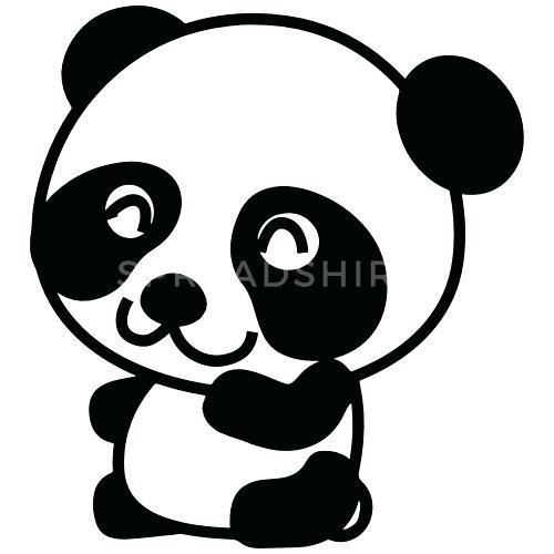 500x500 Cartoon Drawings Of Pandas Design How To Draw Cartoon Panda
