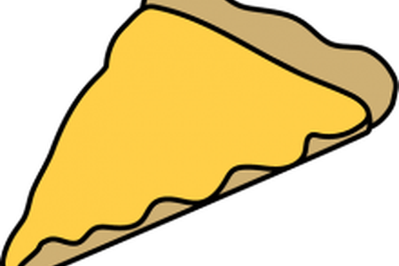450x300 Download Cheese Pizza Slice Drawing