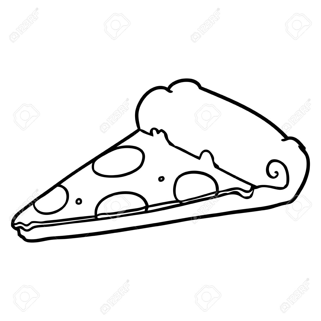 1300x1300 Huge Collection Of 'pizza Slice Drawing' Download More Than