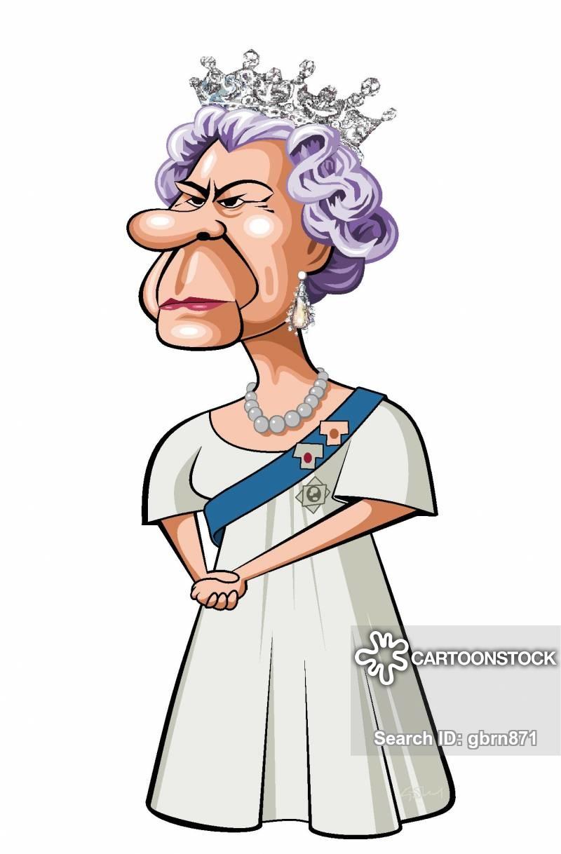 800x1218 Queen Elizabeth Cartoons And Comics