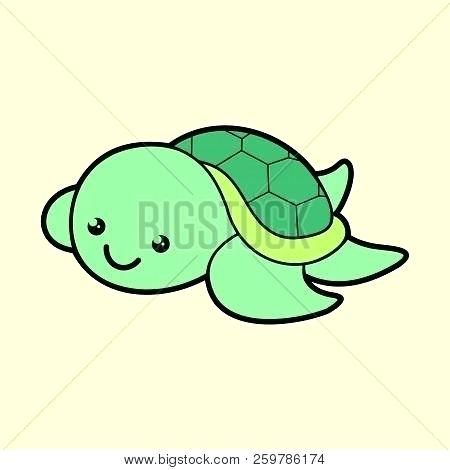 Cartoon Sea Turtle Drawing Free Download On Clipartmag
