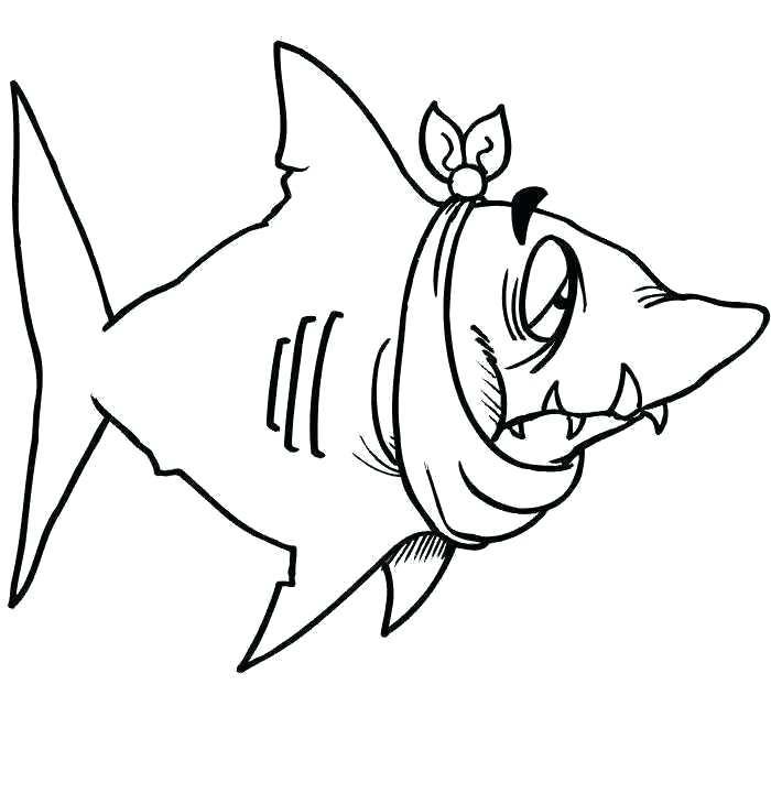 700x720 bull shark drawing bull shark bull shark line drawing