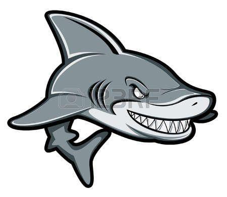 450x391 great white shark shark cartoon illustration shark drawings