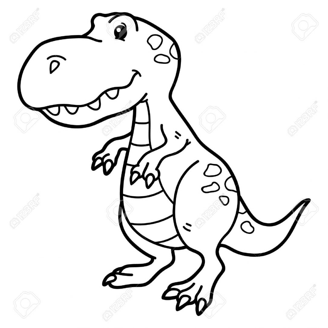 Cartoon T Rex Drawing | Free download on ClipArtMag