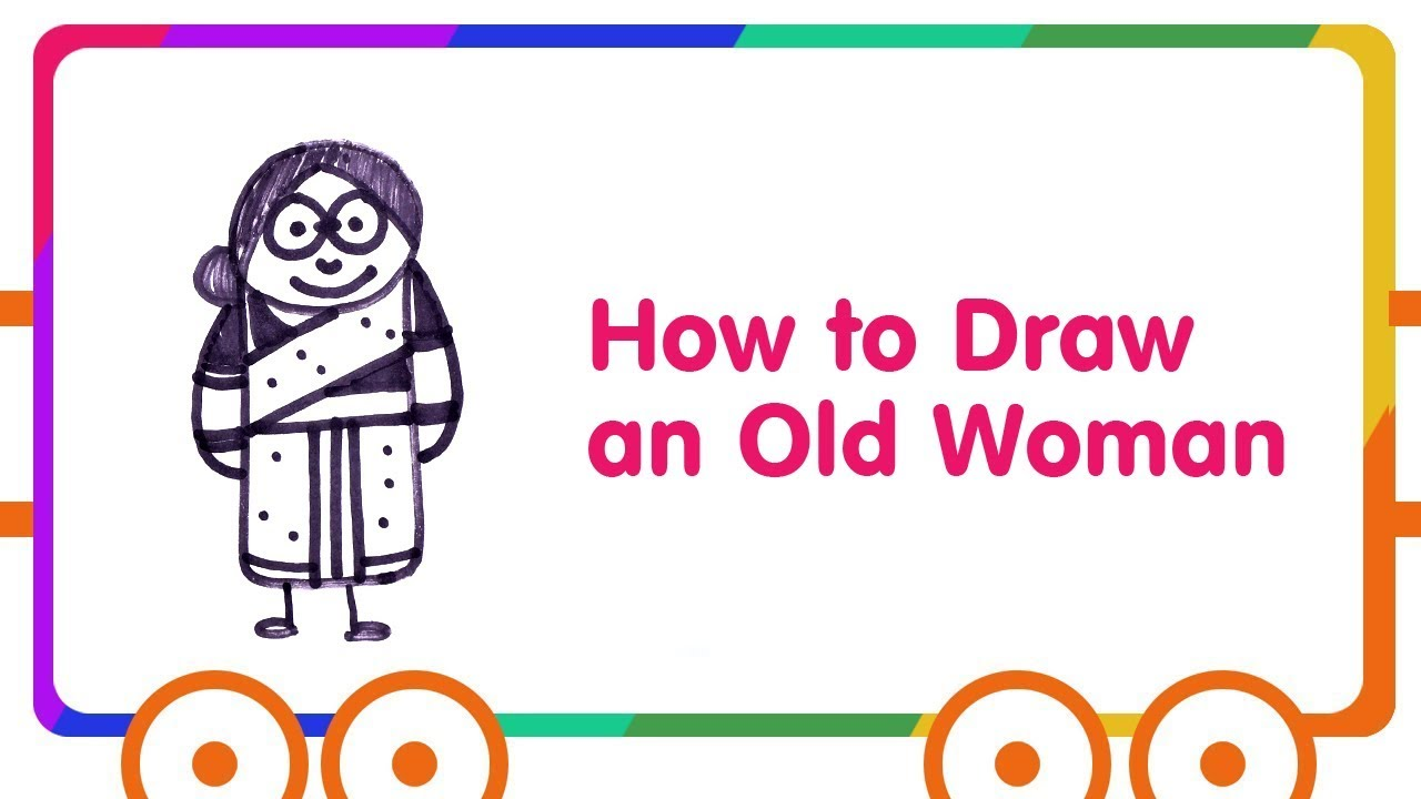 1280x720 How To Draw An Old Woman