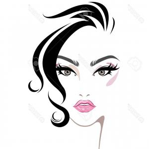 300x300 Stock Illustration Cartoon Woman Make Up Soidergi