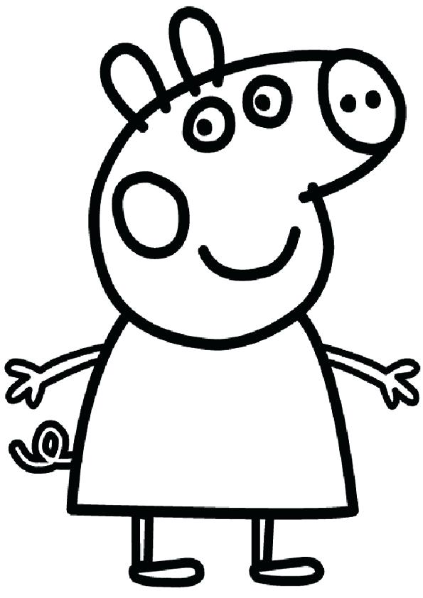 595x842 Pig Drawing For Kids How To Draw A Pig Easy Architecture Around