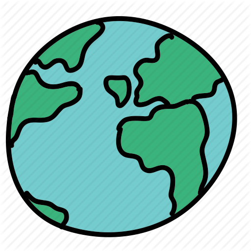 512x512 World, Cartoon, Drawing, Transparent Png Image Clipart Free Download