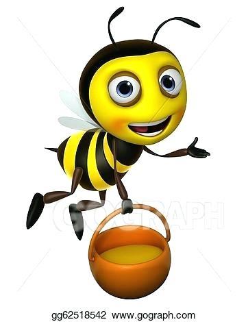 362x470 Honey Bee Drawing Cartoon