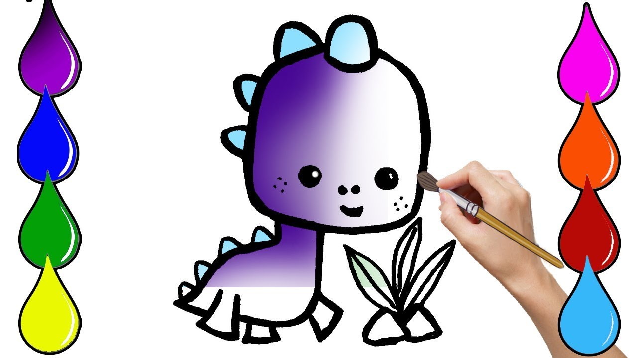 1280x720 How To Draw Pterosaur Kid Dinosaur Jurassic World