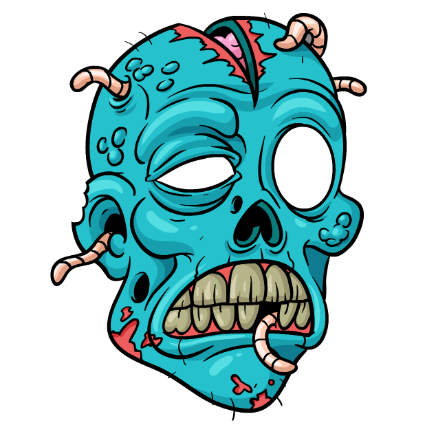 618x618 Collection Of Free Zombies Drawing Cartoon Download On Ui Ex