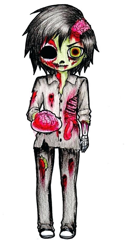 498x928 Draw A Zombie How To Draw Zombie Draw Zombie Easy