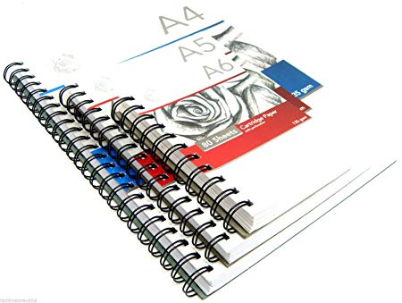 450x339 spiral sketch pad sketching book cartridge paper pad drawing pad