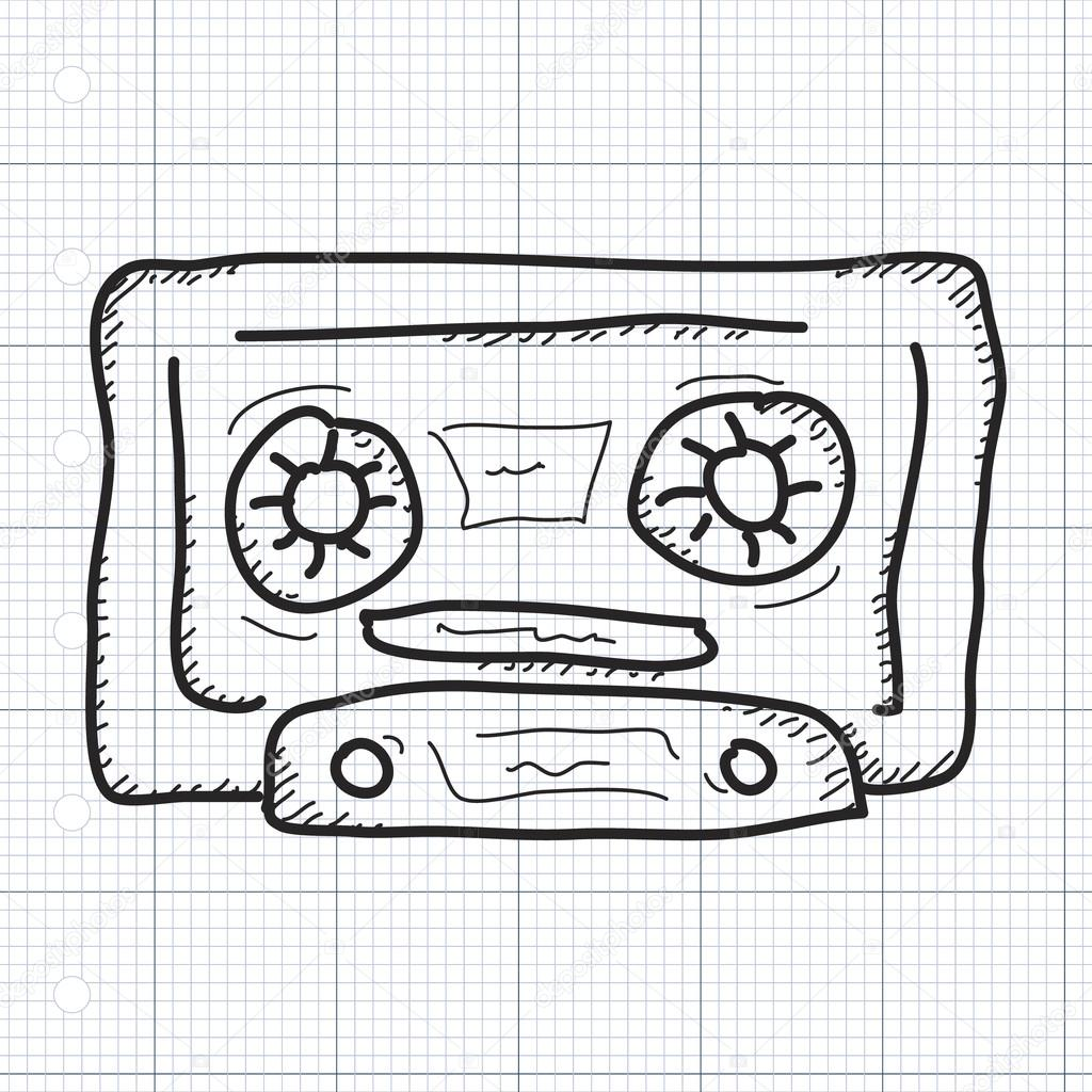 1024x1024 Tape Drawing Simple For Free Download