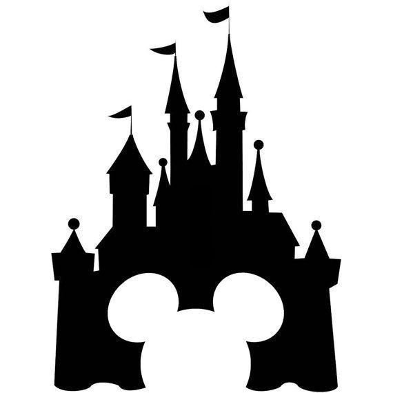 570x570 Disney Castle Drawing Money Clipart