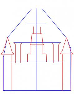 238x302 How To Draw A Castle Step