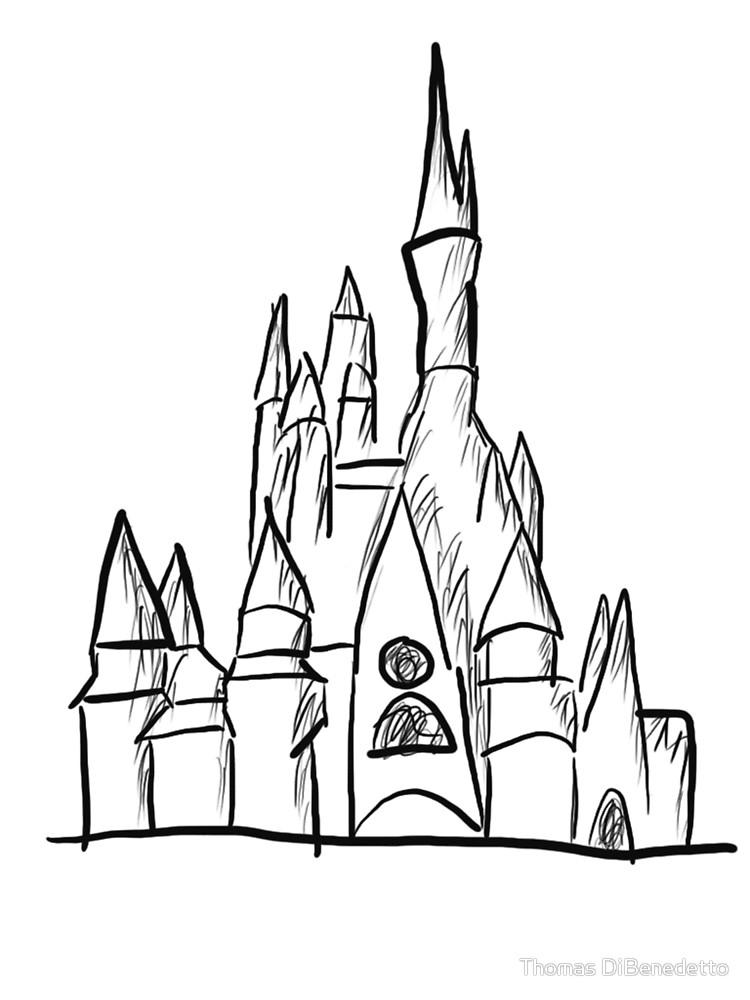 750x1000 Sketch Castle