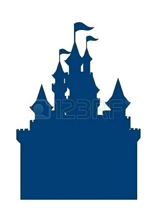 325x450 cinderella castle clipart castle drawing panda disney castle
